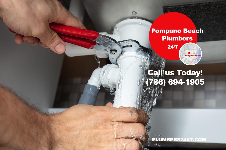 Pompano Beach Plumbers - Broward Plumbers - Plumbers 24x7