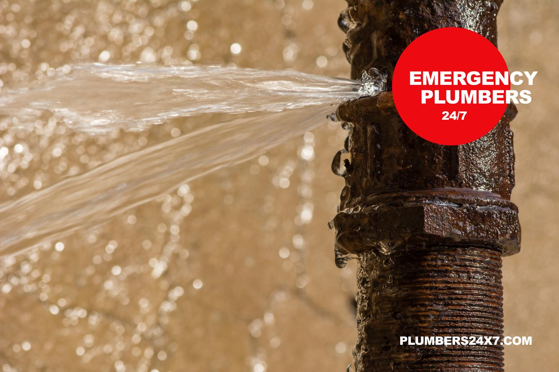 Burst pipe - Emergency Plumbers near me